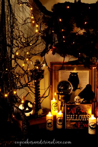 Bewitching Halloween Blog Hop - Cupcakes and Crinoline