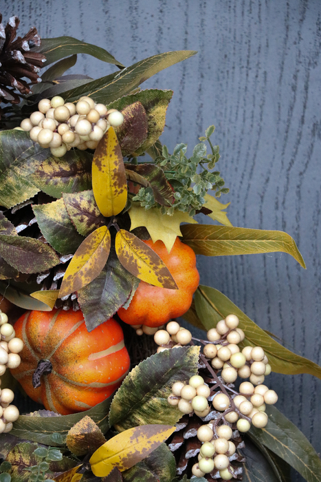 A closer look at our Autumn Abundance foliage