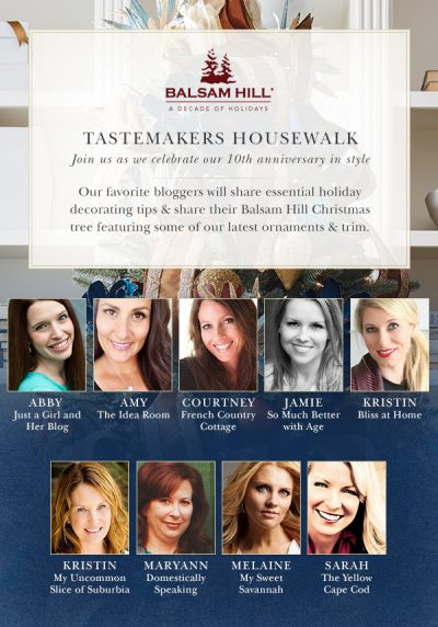 Balsam Hill's Tastemakers 2016