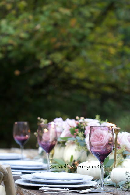Rustic escape with Courtney's elegant tablescape