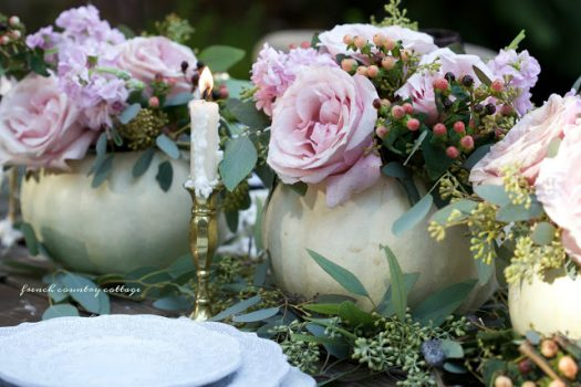 Romantic Tablescape by Courtney