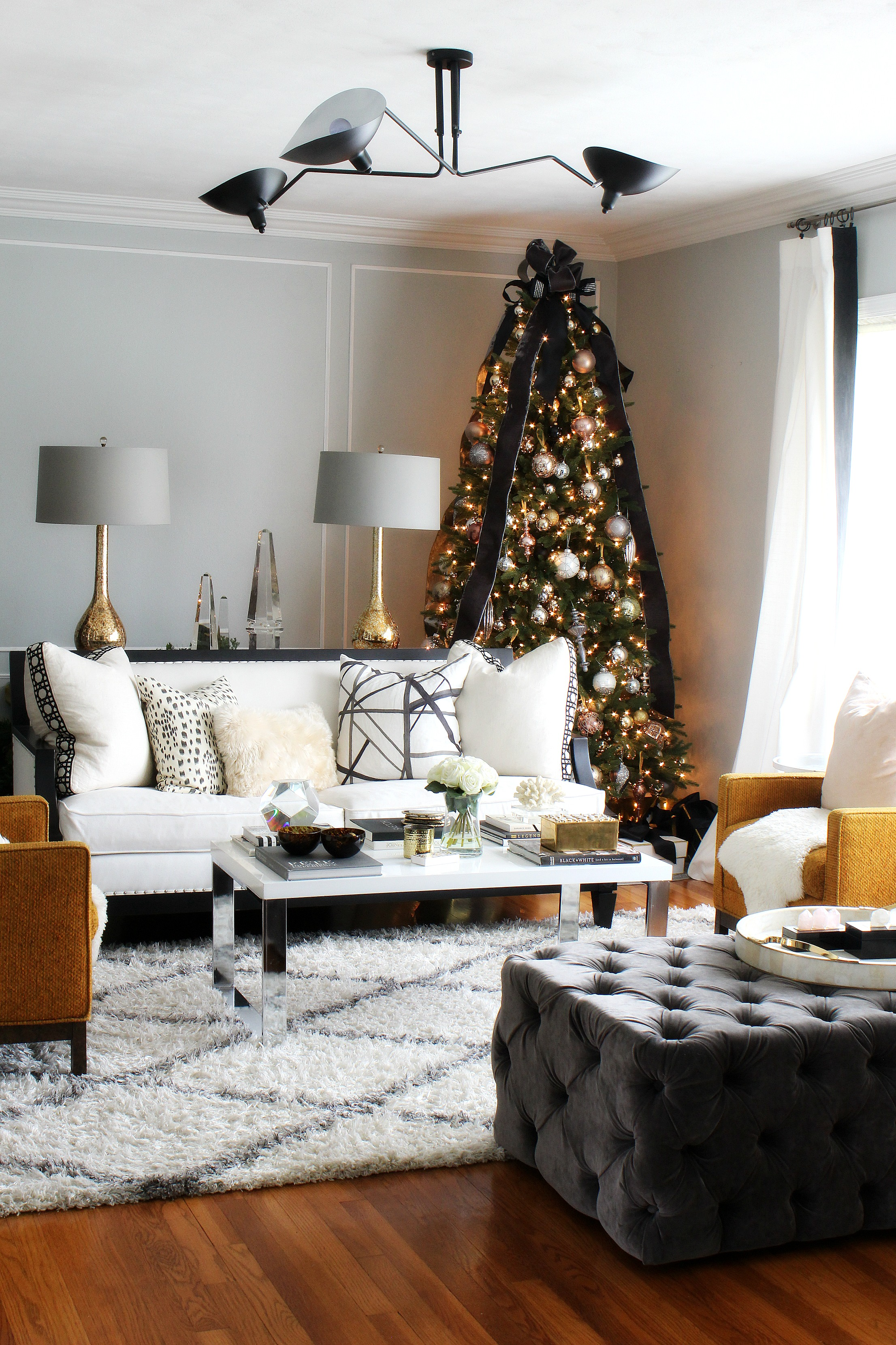 Balsam Hill Tastemakers 2016: sneak peek of my living room by Kristen from Bliss at Home
