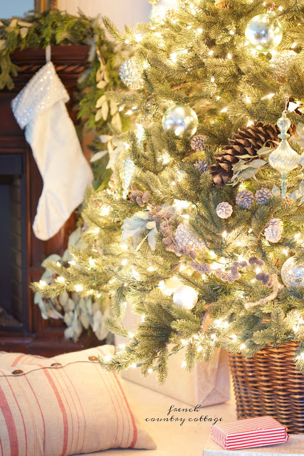 Decorated tree from Courtney of French Country Cottage