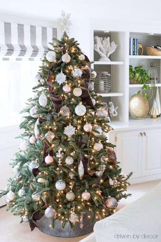 Decorated tree from Driven by Decor