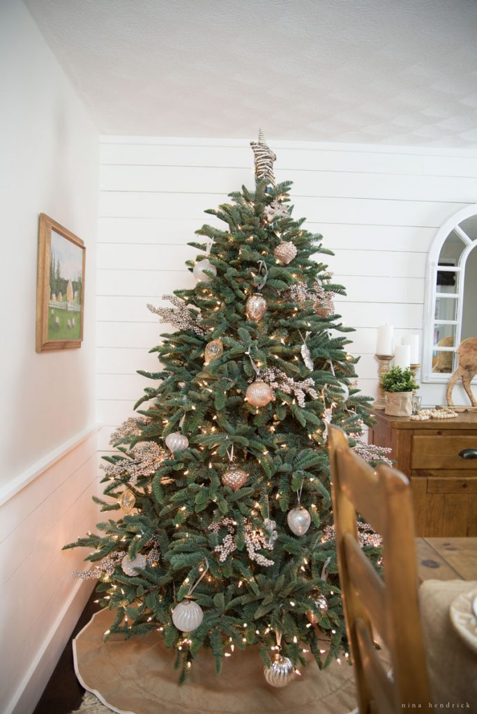 Decorated tree from Nina Hendrick Design