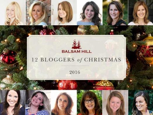 Balsam Hill's 2016 12 Bloggers of Christmas