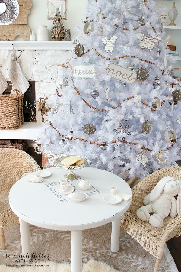 Jamie's White Pikes Peak Christmas Tree