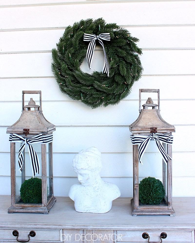 Kylie's Vermont White Spruce wreath