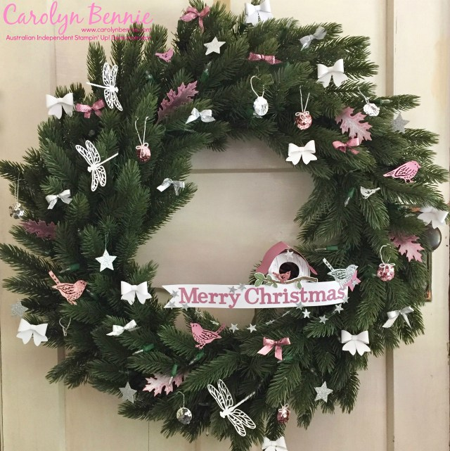 Carolyn's Vermont White Spruce wreath
