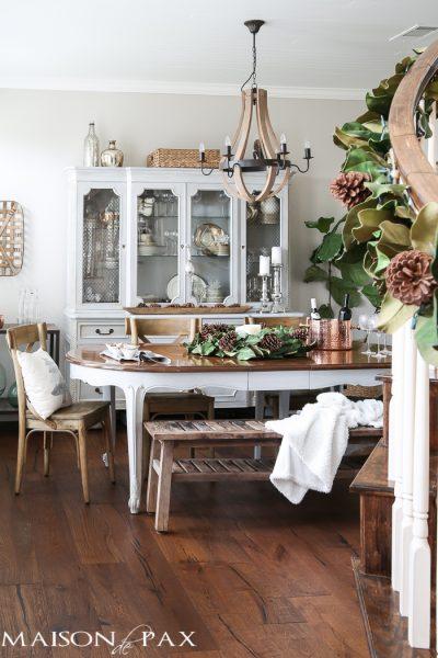 Maison de Pax Woodsy Dining Room