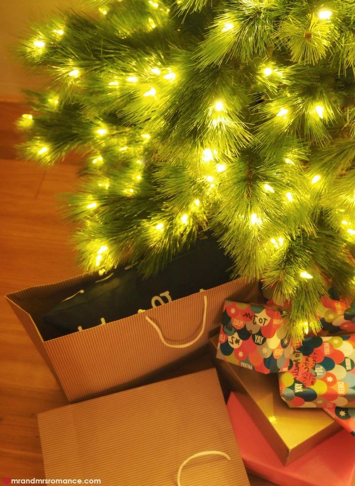 Jim and Christina's Monterey Pine Christmas tree