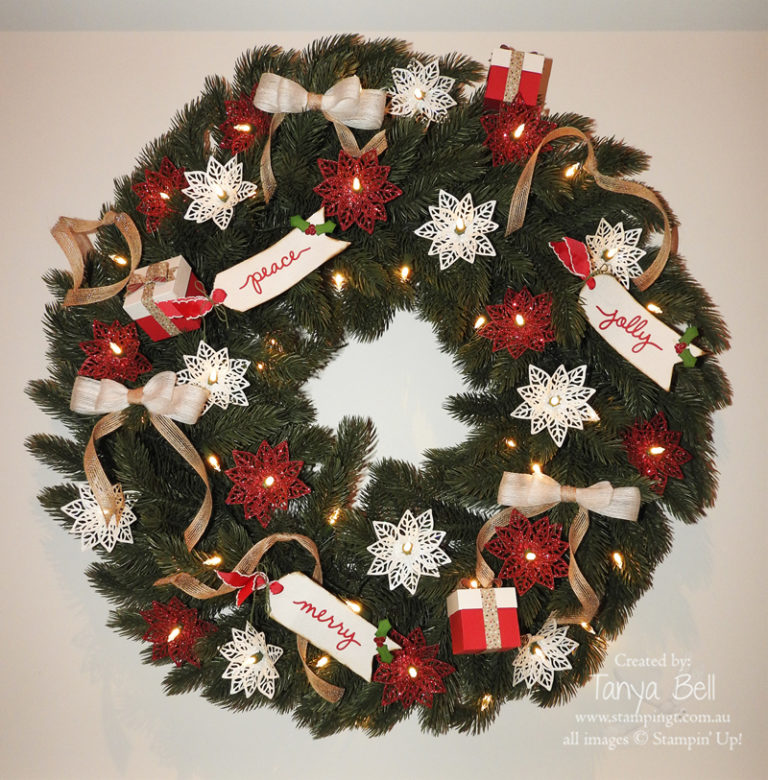 Tanya's Vermont White Spruce wreath