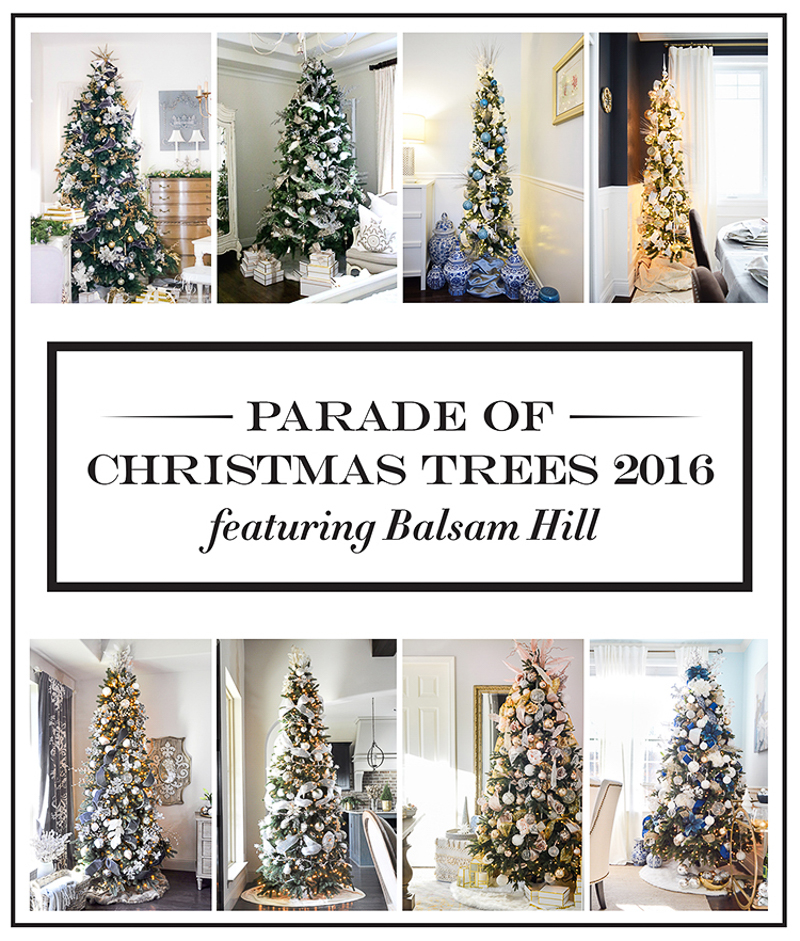 balsam hill parade of christmas trees - Led Pre Lit Christmas Trees