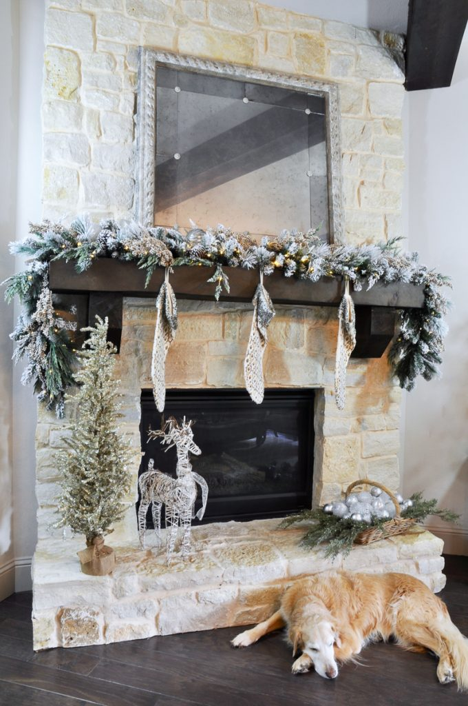 Jennifer's frosted draping design