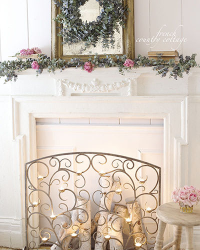 Our hand-forged Tea Light Fireplace Screen