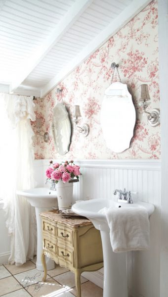 Decorated bathroom