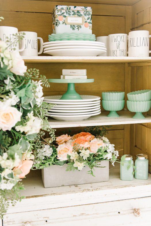 Choose pastel accents that complement your home decor