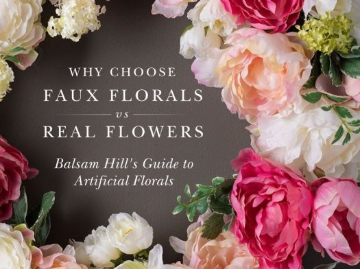 Balsam Hill's Artificial Flowers vs Real Flowers