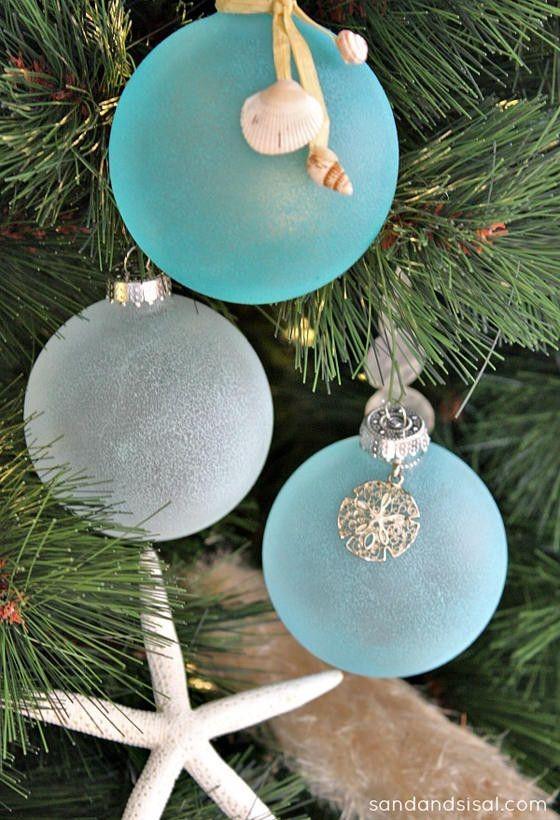 Coastal Christmas Tree Ornaments