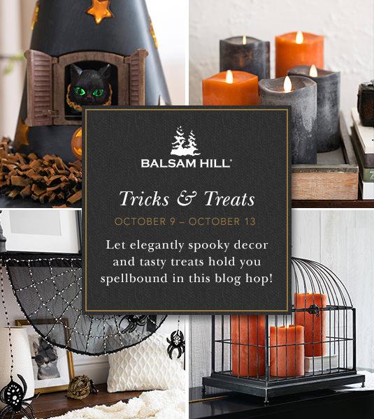 2017 Balsam Hill Halloween Blog Hop