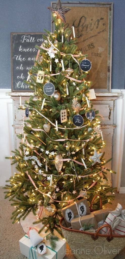 Vintage Treasures Christmas Tree