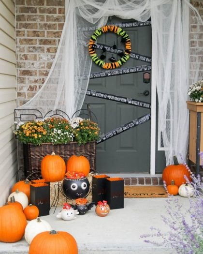 20 Elegant Halloween Home Decor Ideas: Elegant Halloween Home Décor Ideas From Balsam Hill