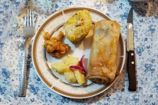 Serbian Christmas Meal