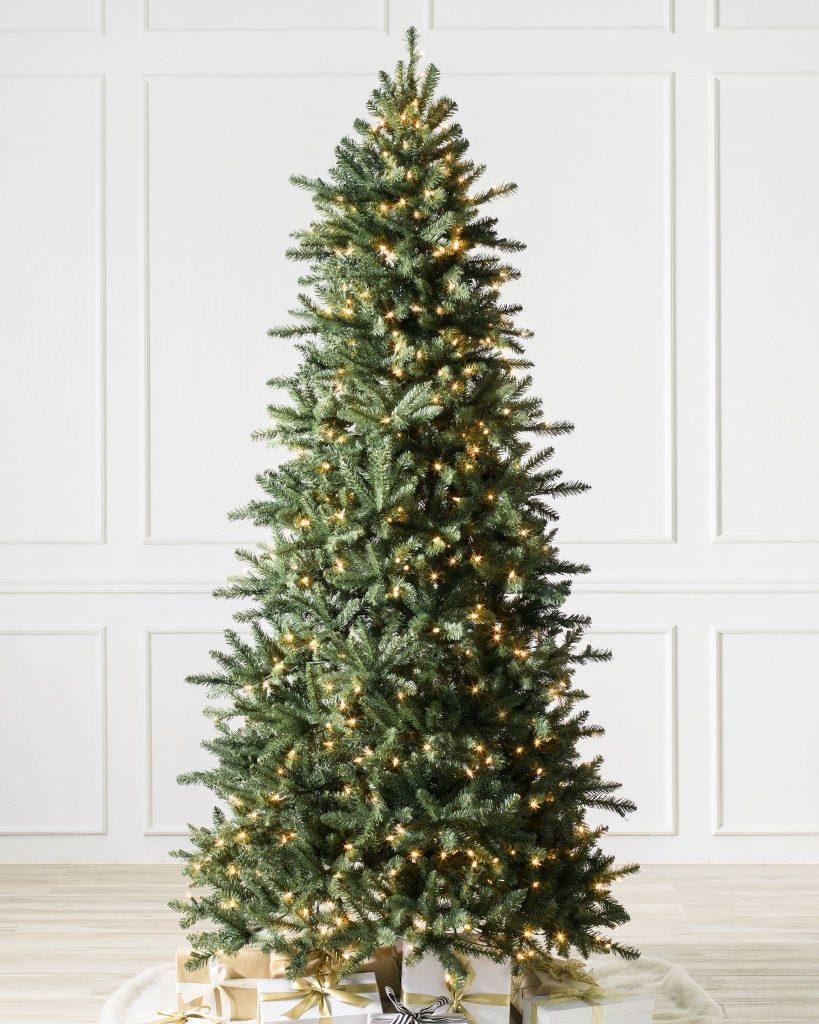 Narrow Artificial Christmas Trees