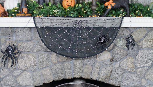 Delilah's Halloween Mantel Design 5