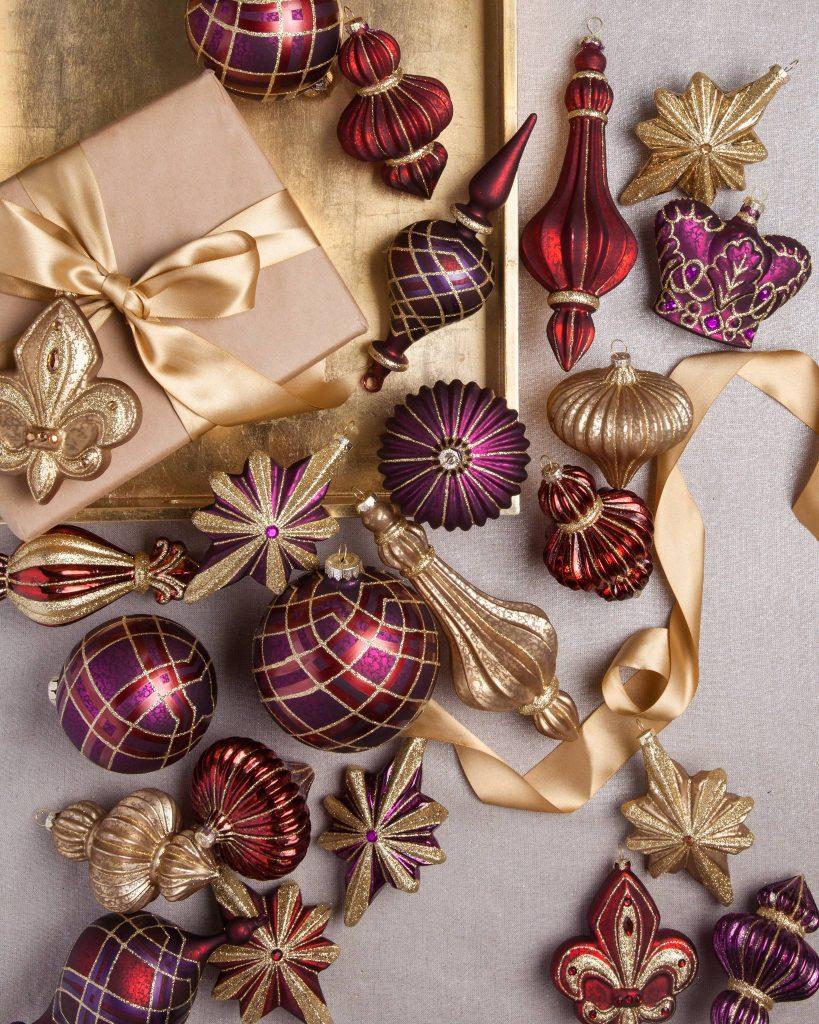 Royal Celebration Ornament Set
