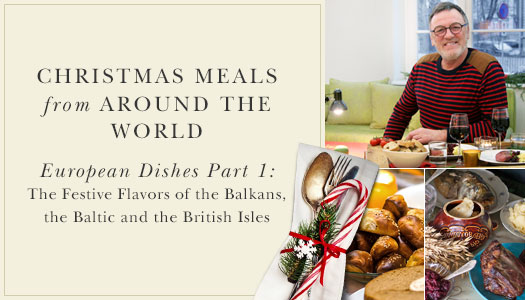 Christmas Meals from Around the World with Balsam Hill