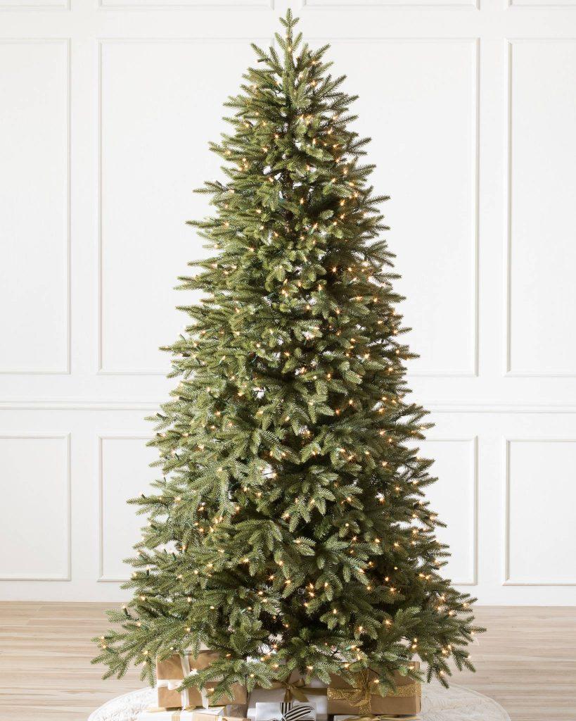 Ll Bean Christmas Trees.Narrow Width Stratford Spruce Christmas Trees Balsam Hill