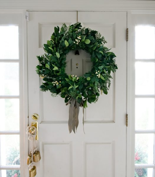 White Berry Cypress Wreath