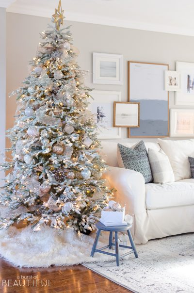 Alicia's Charming Frosted Fraser Fir