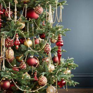 Brilliant Bordeaux Ornament Set