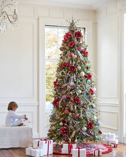 Get the Look of 5 Stunning Christmas Tree Themes