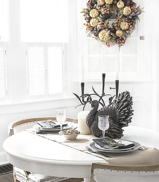 Autumn's Bounty Wreath & Tablescape Decorations