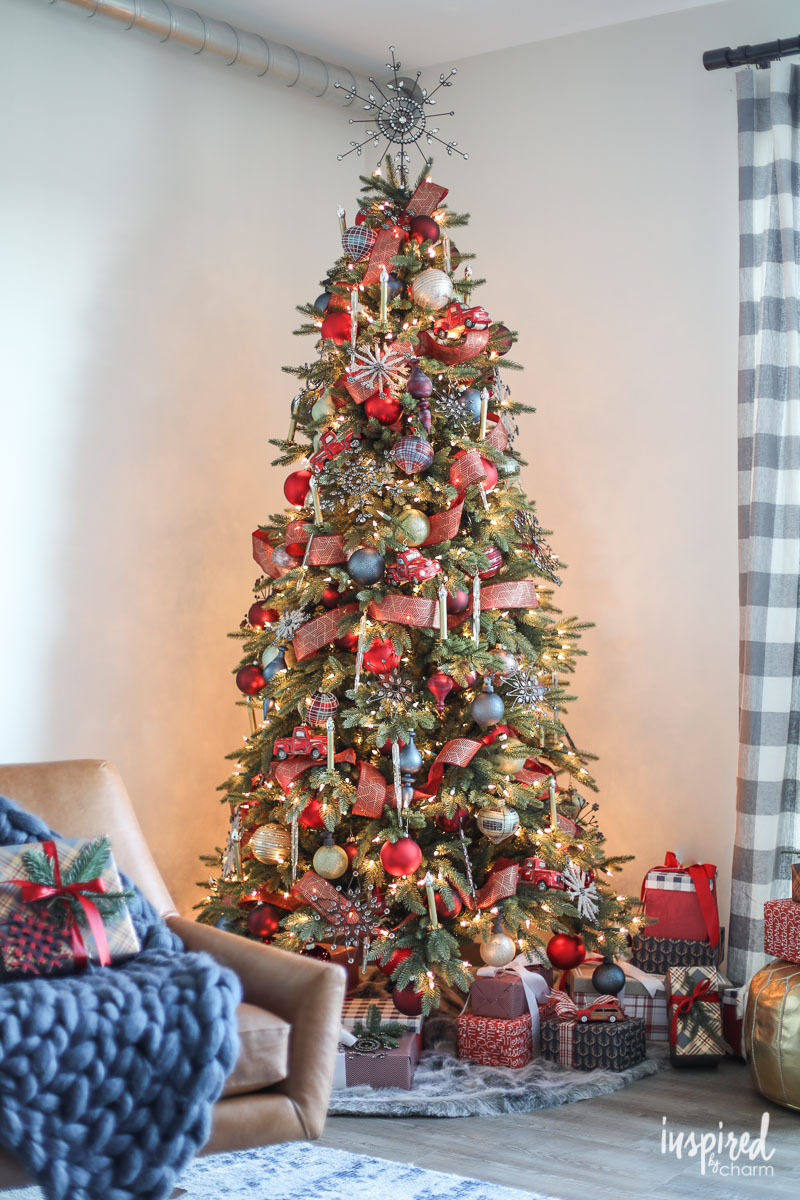 rustic christmas tree ideas balsam hill s decorating ideas balsam hill 30227