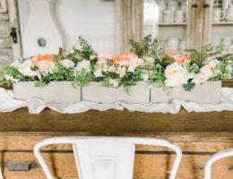 Flower Box Tablescape