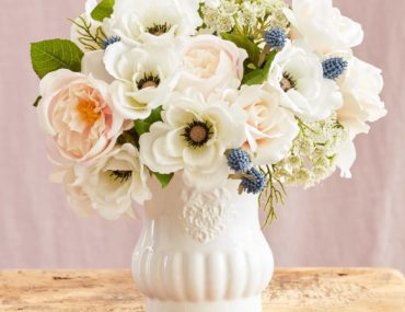 Balsam Hill Artificial Floral Chantilly Arrangement