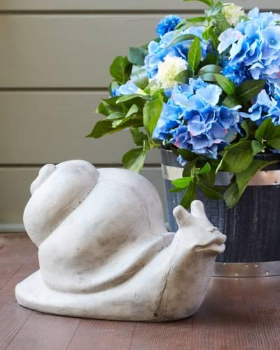 Woodland Garden Snail Statue