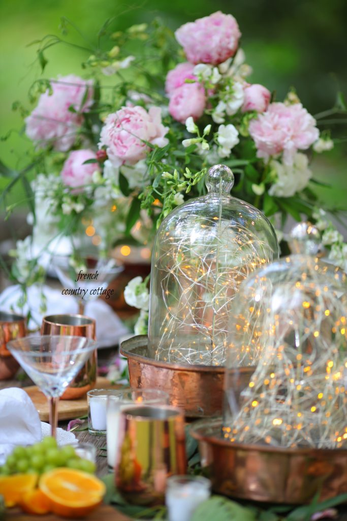 fairy light cloches