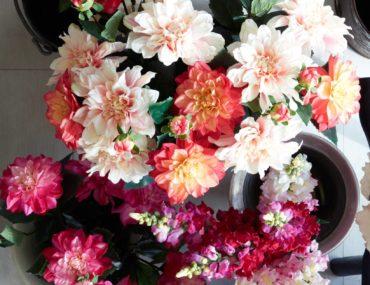 Balsam Hill Artificial Dahlia Flower Stems