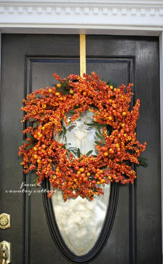fall wreath decoration
