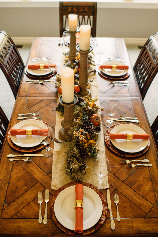 autumn decor tablescape ideas