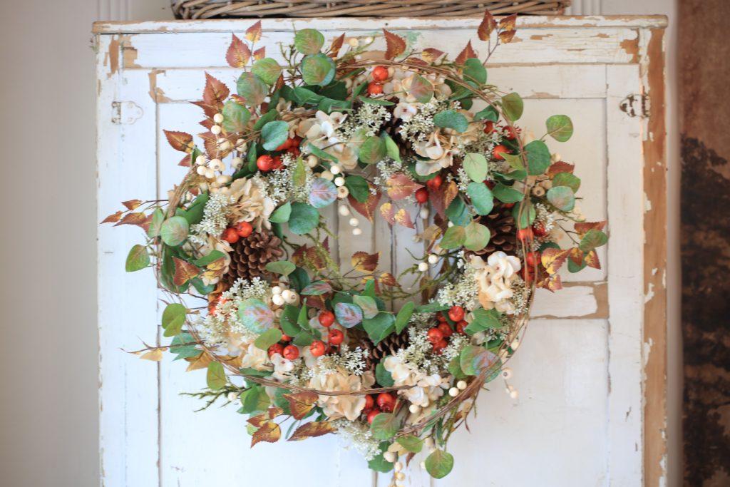 Autumn decor wreath