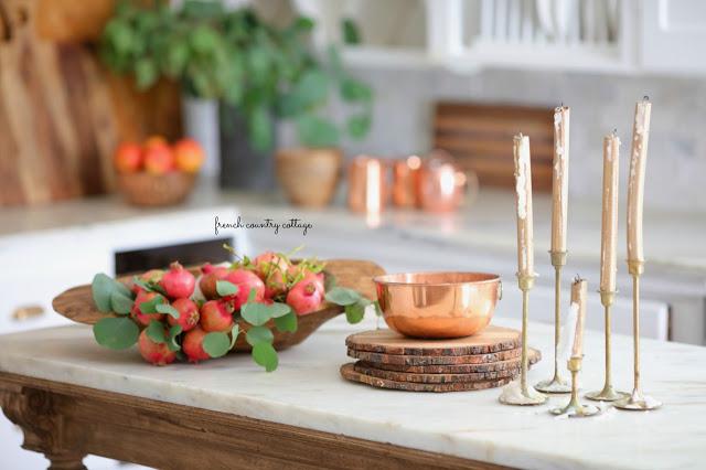 kitchen autumn decor