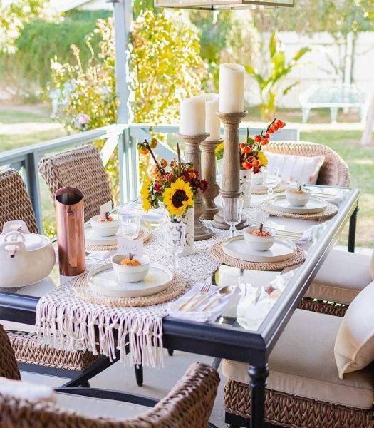 Diana Elizabeth's tablescape