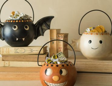 Balsam Hill Vintage Halloween Candy Bowls