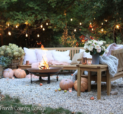 Courtney's Outdoor Copper Fire Pit